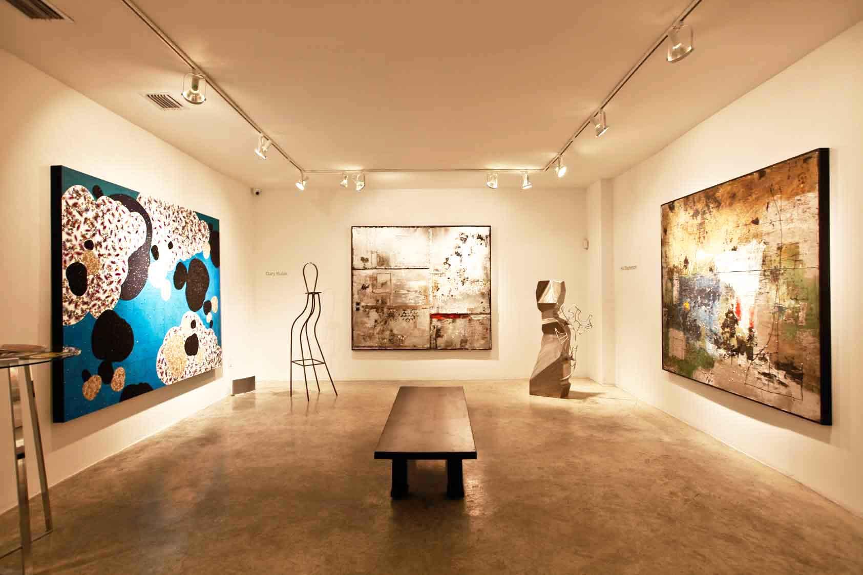 N'Namdi Contemporary in Miami, gallery view.
