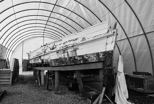 A. Lilia Smith, Untitled #4 Boat, St Michaels Marina, St. Michaels MD, November 2011