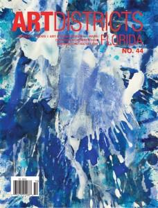 "Cover page: J. Steven Manolis, Blue Land Splash 2015.11, acrylic on paper, 20"" x 14."" Courtesy of Manolis Projects. www.manolisprojects.com"