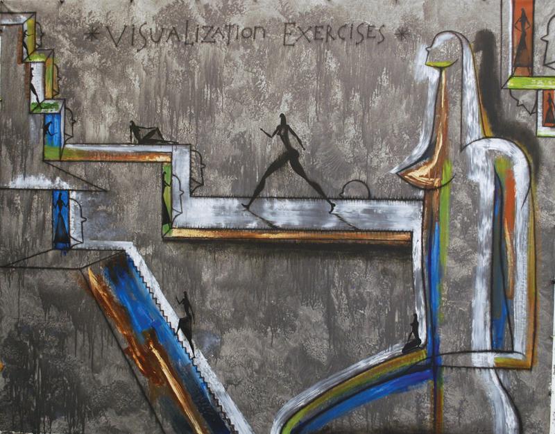 Jose Bedia, Visualization Exercises, 2015. Courtesy of Trotto Bono Contemporary, New York. All images courtesy of ArtPalmBeach 2018.