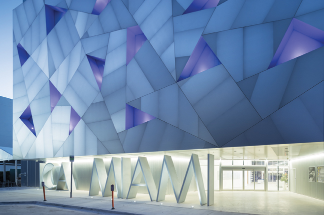 Exterior of the Institute of Contemporary Art, Miami. Photo by Iwan Baan.
