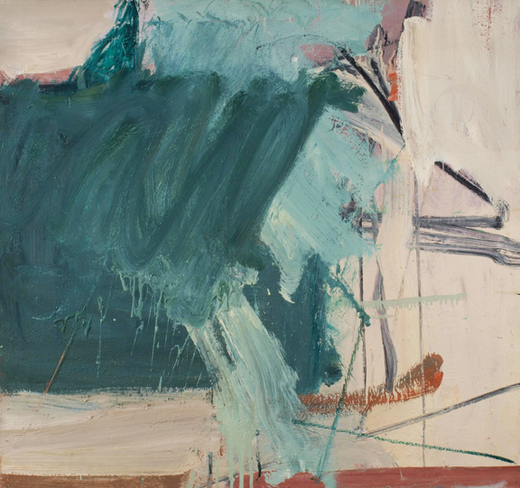 Nick Carone, Untitled, 1959, oil on linen.