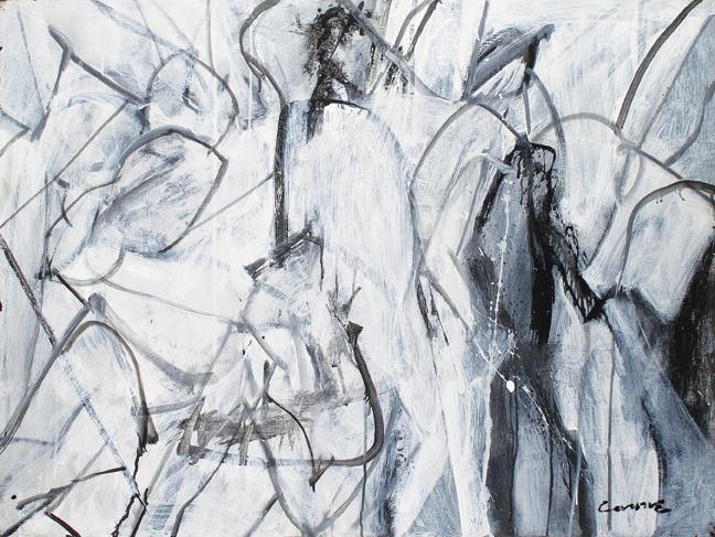 Nick Carone, High Spirit, 2008, acrylic on tarpaulin.